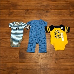 Baby Boy Clothes 0-3 Months NWT